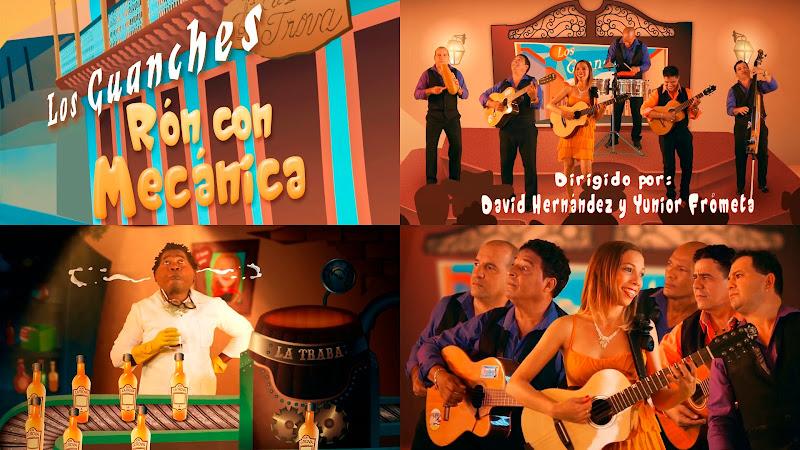 Los Guanches - ¨Ron con Mecánica¨ - Dibujo Animado - Videoclip - Dirección: David Hernández - Yunior Frómeta. Portal del Vídeo Clip Cubano