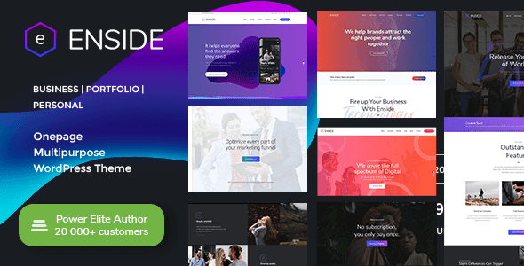 Top 10 Best One Page Themes or Corporate Themes for WordPress in 2019