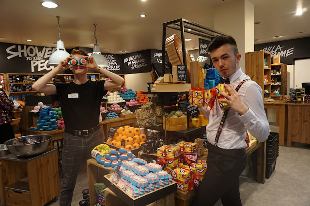 LUSH Belfast: Fathers Day Blogger Launch