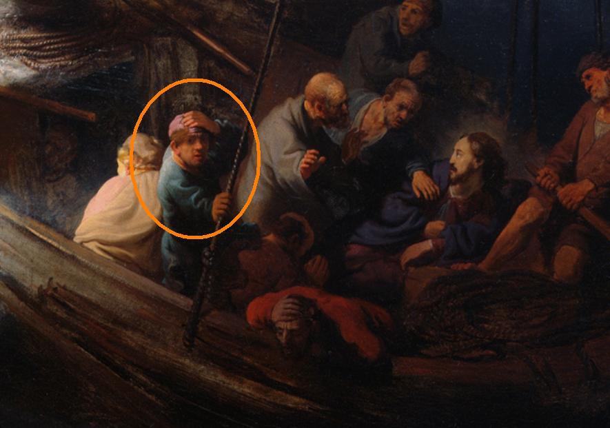 Carpe Diem La Tormenta En El Mar De Galilea