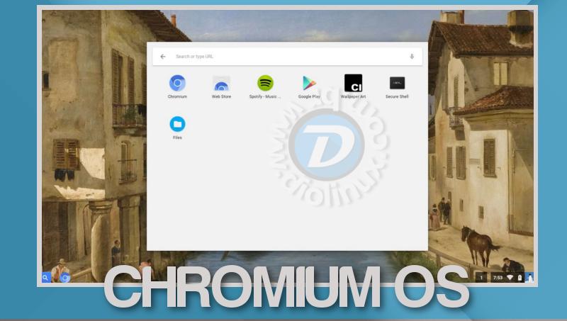 Chromium OS - Versão Desktop de 64 bits está disponível