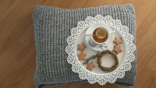 Pufa ze starego swetra