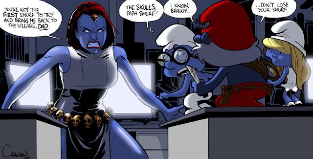 Brzoskwiniowy komiks porno