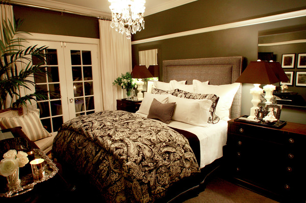 The fine living muse beautiful master bedroom ideas with Romantic bed designs