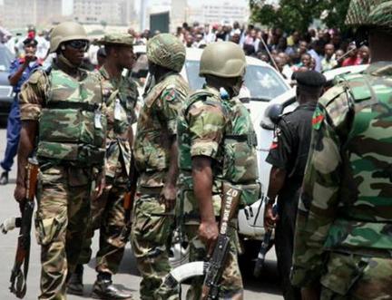 5 nigerian soldiers dismissed bribe abuja