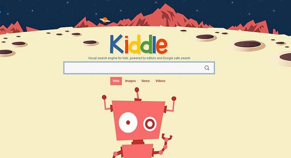 Situs Pencarian Kiddle
