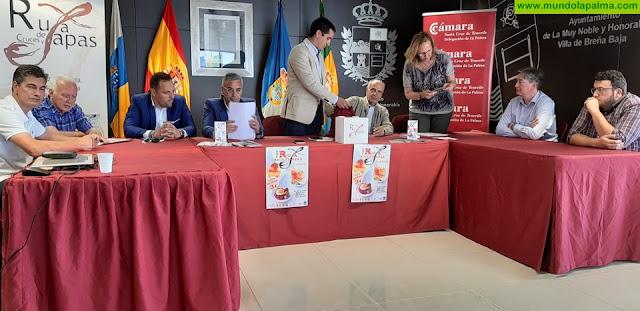 Cámara, Ayuntamientos y Asociaciones sortean los premios de la VIII Ruta de Cruces