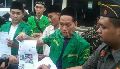 Kiai Said Dihina di Facebook, Dua Pemilik akun Dipolisikan GP Ansor Bekasi