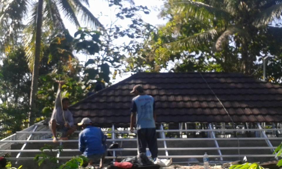 Harga Atap Baja Ringan Lapis Pasir Go Grenn,genteng Metal Di Bali,denpasar,gianyar ...