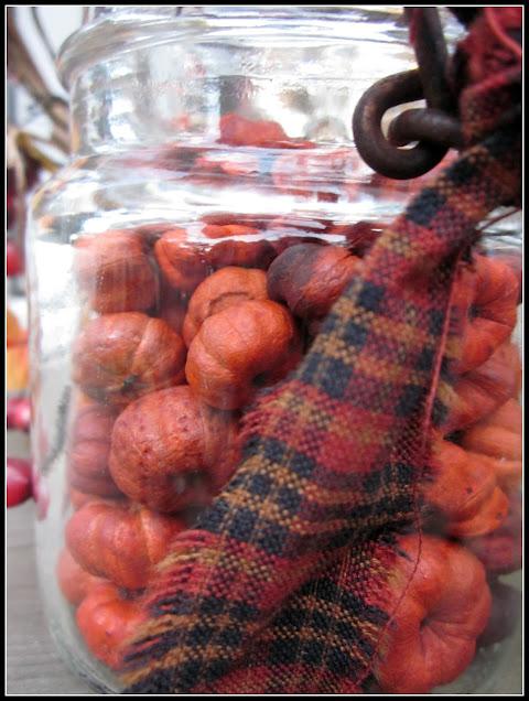 jar of Putka pods