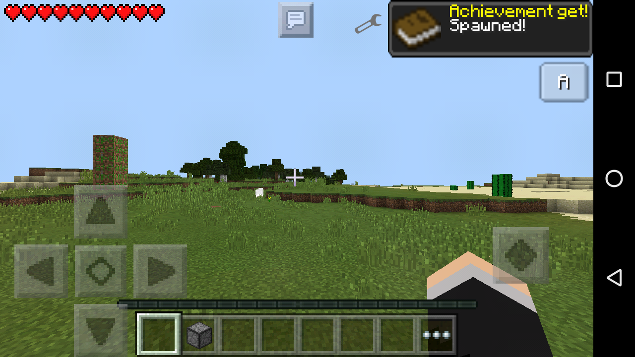 how to get achievements in minecraft pe