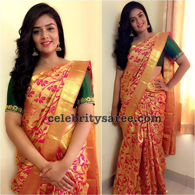 Sreemukhi Traditional Silk Sarees