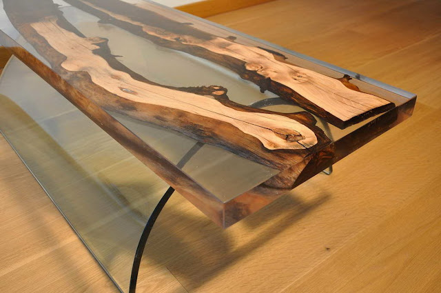 epoxy resin table