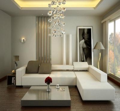 desain ruang tamu minimalis mewah