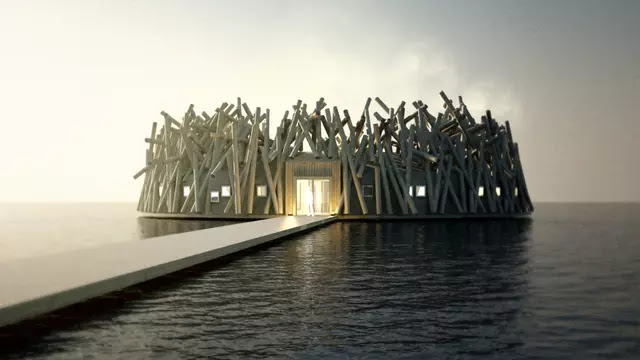 The Floating Hotel is the Waiting Destination of the Year