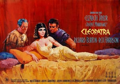 Póster Cleopatra 1963