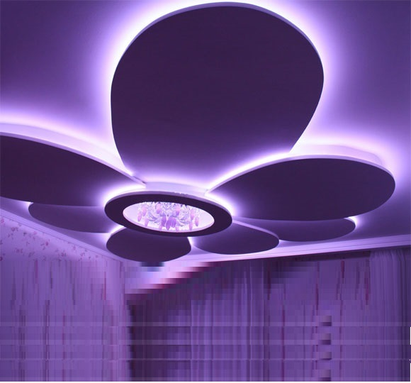 40 latest gypsum board false ceiling designs with led lighting 2019 gypsum board design for false ceilings with led lighting for living rooms mozeypictures Choice Image