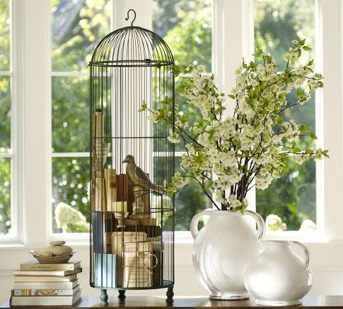 Dishfunctional Designs Decorating With Bird Nests Amp Birdcages