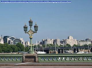 Orilla norte del Támesis desde el Westminster Bridge