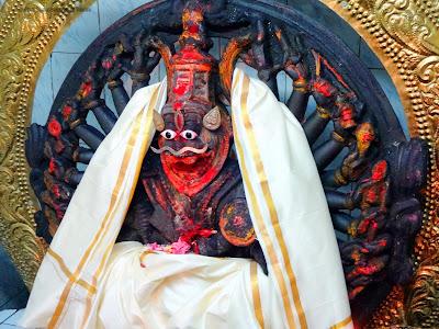 Ugra Narasimha swamy at Bhavani Shankara Swamy Temple Mundlapadu
