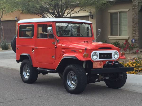 1971 Toyota FJ40 Land Cruiser For Sale
