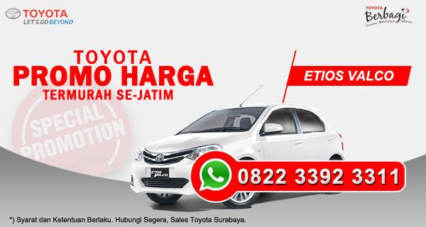 Promo Harga Toyota Etios Valco Surabaya