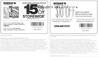 Kohls coupons april 2017