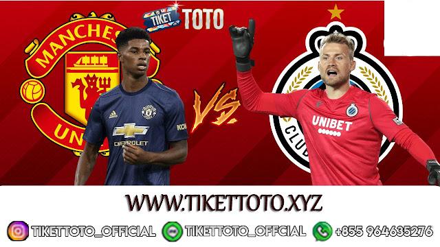 Prediksi Pertandingan Manchester United vs Club Brugge 28 Februari 2020
