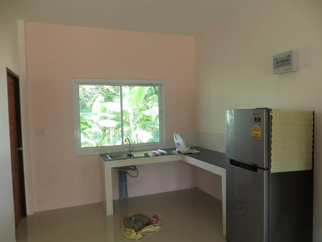 Зона кухни, новый холодильник