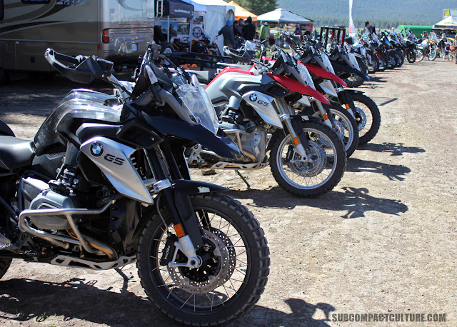 Adventure motorcycles at Overland Expo West 2016