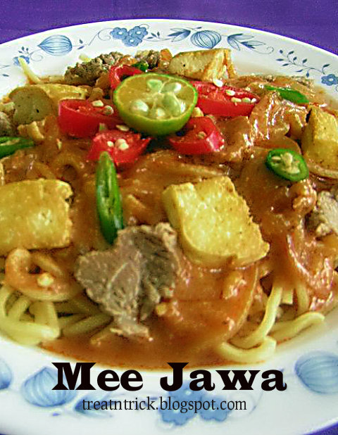 Mee Jawa Recipe @ treatntrick.blogspot.com