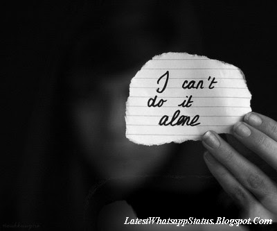 Sadness quotes with pictures ( Loneliness quotes with pictures for Whatsapp )
