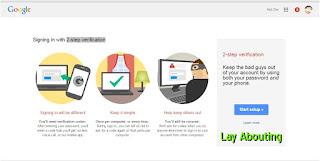 Mengaktifkan 2-step verification pada Akun Gmail