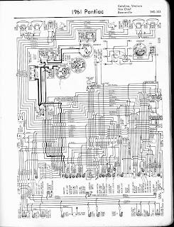 Wiring & diagram Info: Diagram 1961 Pontiac Catalina