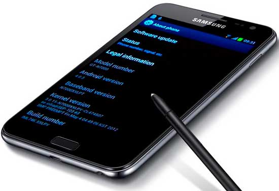 Benefits of Android 4.0.4 on Samsung Galaxy Note