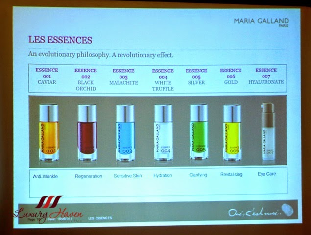 maria galland le essence product review