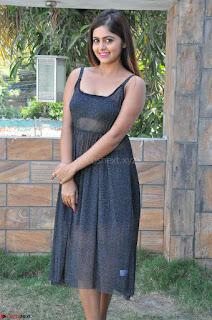 Pragya Nayan New Fresh Telugu Actress Stunning Transparent Black Deep neck Dress ~  Exclusive Galleries 004.jpg