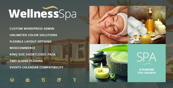 wellness шаблон для сайта спа салон