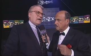 WCW Uncensored 1998 - Mean Gene interviews JJ Dillon