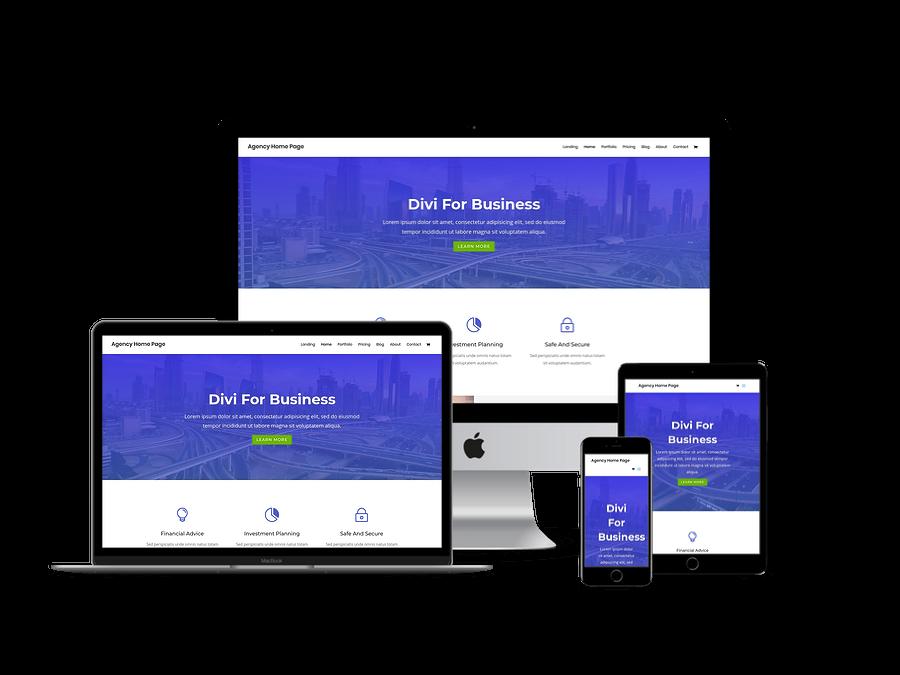 Contoh Template Website Company Profil 2