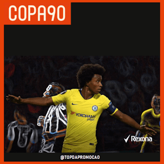 Promoção COPA90 & Rexona - Signed Jersey Giveaway. Ganhe uma camisa oficial do Chelsea! Blog Top da Promoção. #Chelsea #sorteio #promoção #topdapromocao  #WBS @topdapromocao #cfc #chelsea #stamfordbridge #W22 #premierleague