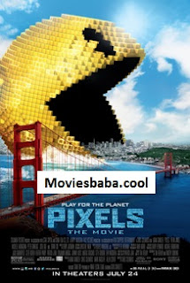 Pixels (2015) Full Movie Dual Audio Hindi Blu-Ray 720p