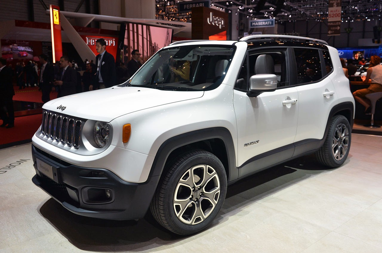© Automotiveblogz: 2015 Jeep Renegade: Geneva 2014 Photos
