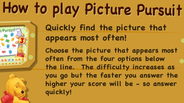Picture Pursuit game