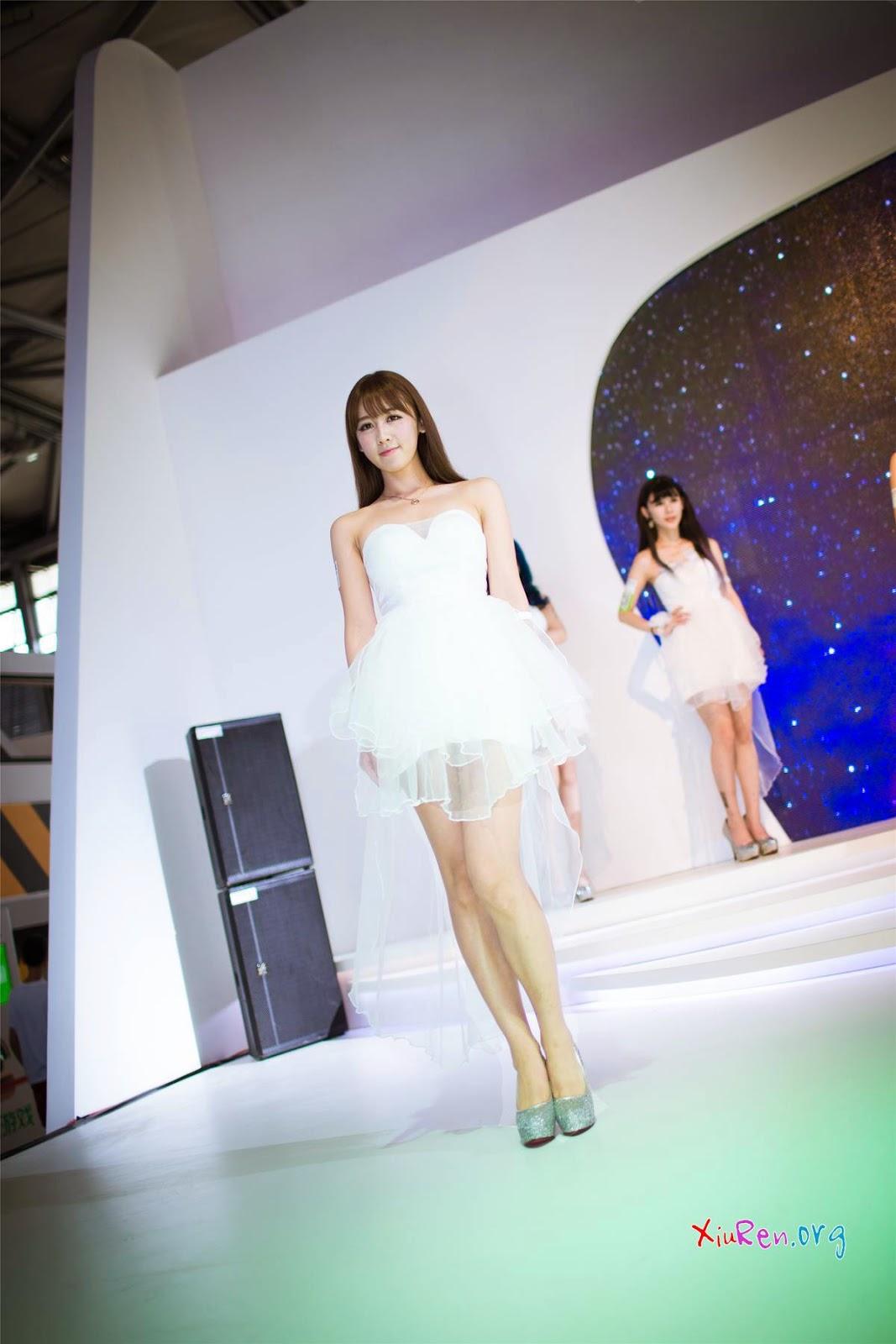 ChinaJoy 2014 showgirl beauty