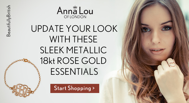 c99e65f9a8f8c7 Power forward in this SS13 with luxurious jewellery collection from Anna Lou  of London! Anna Lou gives a hint of this season the 5 ways to update your  look.