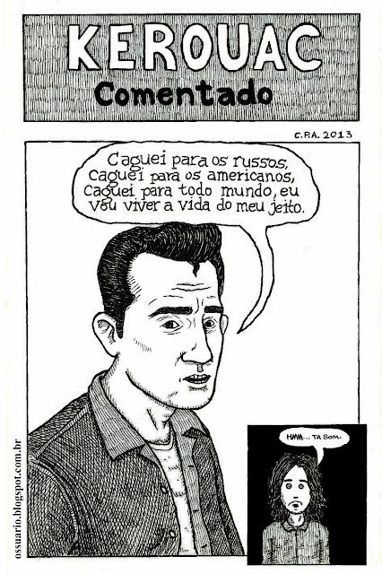 Jack Kerouac, por Cesar Andrade