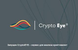 Запущен CryptoEYE – сервис для анализа криптовалют