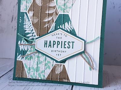 DSP and Tailored Tag Punch easy birthday card   Satomi Wellard-Independent Stampin'Up! Demonstrator in Japan and Australia, #su, #stampinup, #cardmaking, #papercrafting, #rubberstamping, #stampinuponlineorder, #craftonlinestore, #papercrafting, #handmadegreetingcard, #greetingcards #tailoredtagpunch #lotsofhappycardkit, #birthdaycard #スタンピン #スタンピンアップ #スタンピンアップ公認デモンストレーター #ウェラード里美 #手作りカード #スタンプ #カードメーキング #ペーパークラフト #スクラップブッキング #ハンドメイド #オンラインクラス #スタンピンアップオンラインオーダー #テイラードタグパンチ #ロッツオブハッピーカードキット #バースデーカード