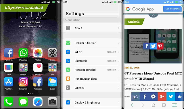 Membuat Tampilan Layar HP Android Melengkung (Edge & Round Corner Screen)